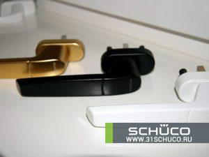 Schuco ручки для окон серия Design