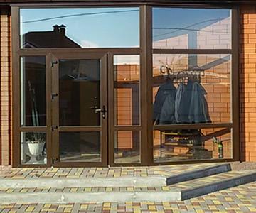 панорамные окна - алюминиевые витражи и двери