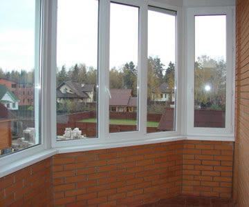 панорамные окна - остекление балконов и лоджий в Белгороде