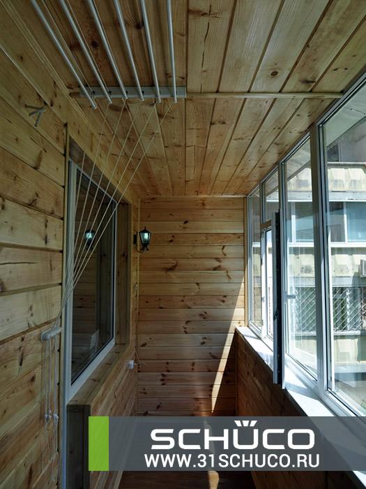 Ремонт и отделка балкона и лоджий в белгороде.