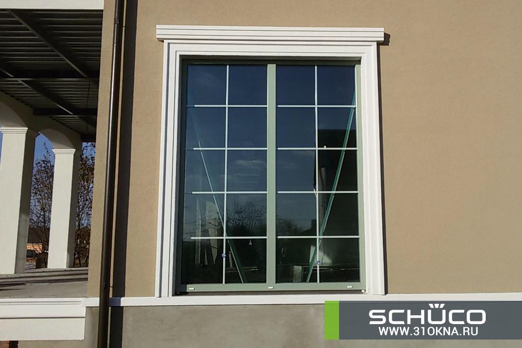 окна schuco оливкового цвета белгород таврово 3 -2