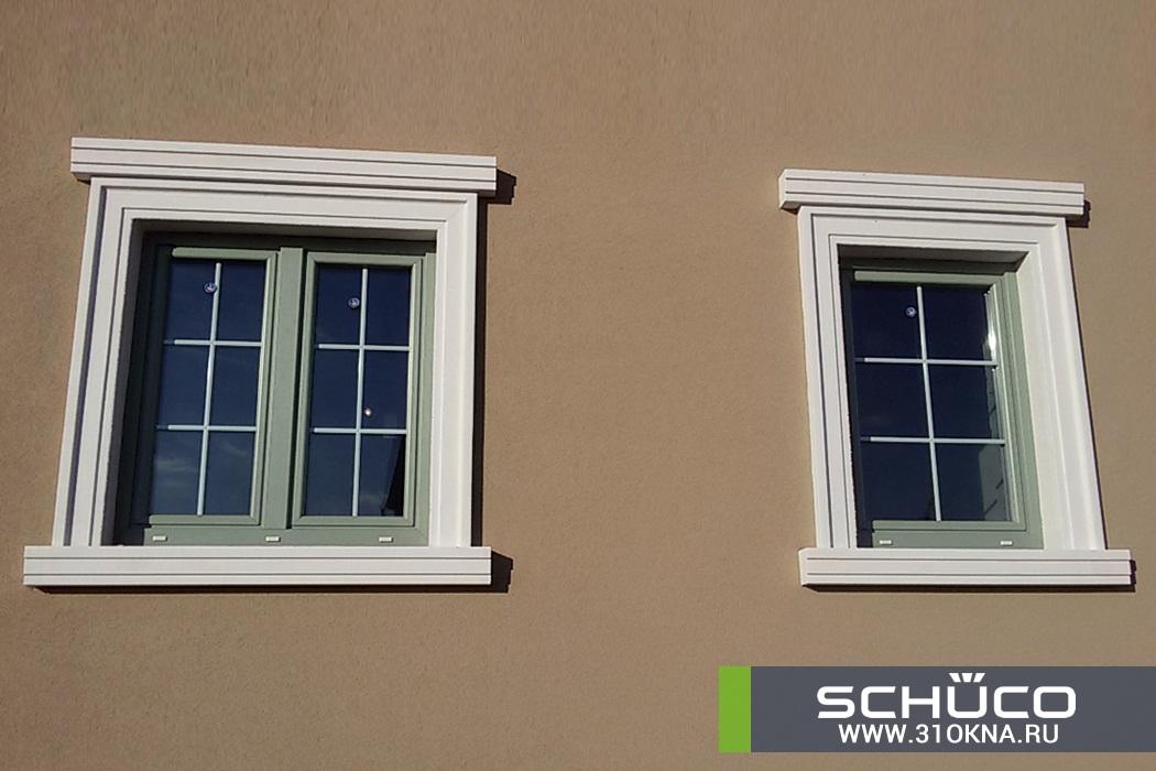 окна schuco оливкового цвета белгород таврово 3 -3