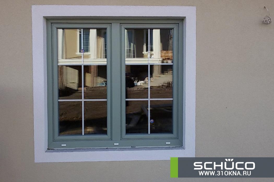 окна schuco оливкового цвета белгород таврово 3 -4